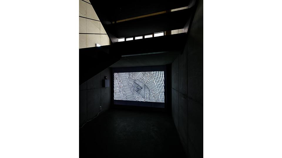 Installation view of Jiyen Lee, Arrival, Gallery Simon, 2016