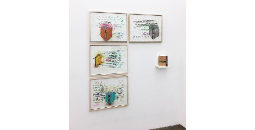 Airan Kang,  Installation View at Your Hand, My Heart, Gallery Simon, 2017