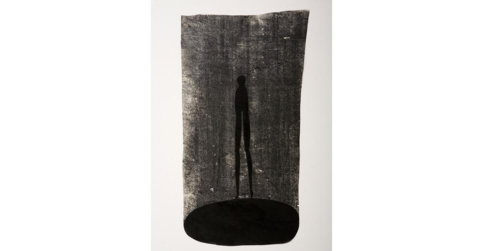 Lee, Joo-Won, Meet Unexpectedly on the Road, 2007, acrylics on Korean paper, 48 x 80 cm
