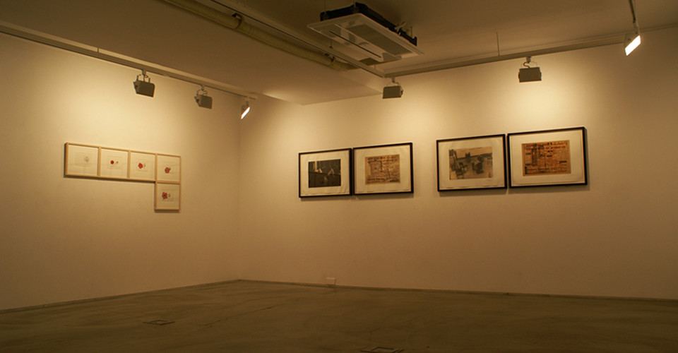 Installation view of simon's collection at Gallery Simon, 2013