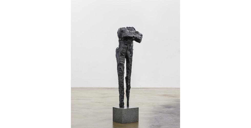 Untitled, 1997, bronze, 43 x 48 x 178 cm (including the pedestal)