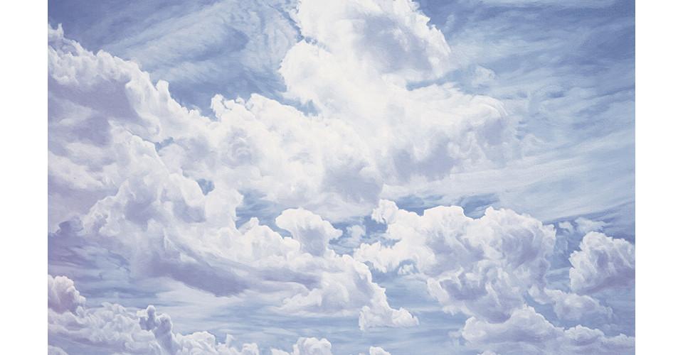 Kang, Un, 순수형태-심경, 2005, oil on canvas, 333.3 x 218.2 cm