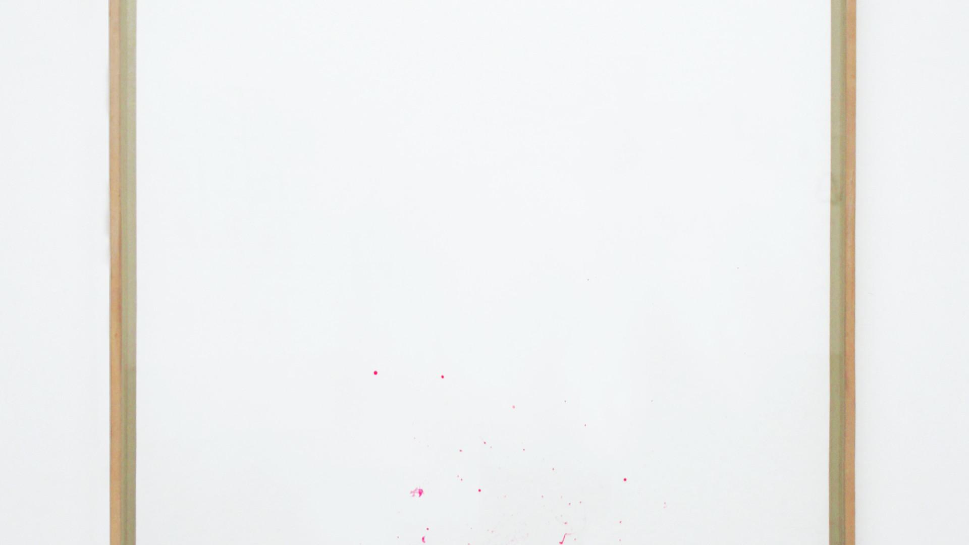 Landscape, 2017, ink on paper, 114 x 84 cm