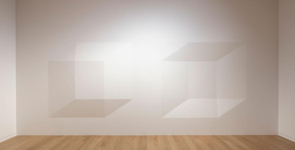 Installation view of Geometry, beyond simplicity, Museum San, 2019