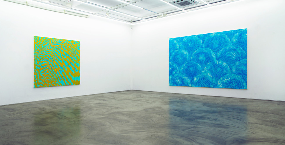 Installation view of Light of Lightness_Gallery Simon_ 2018-3