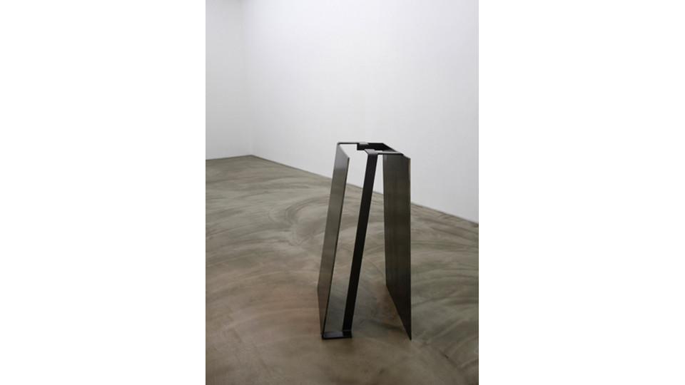 there, becoming a place, 2013, iron, 127.5 x 62 x 73 cm