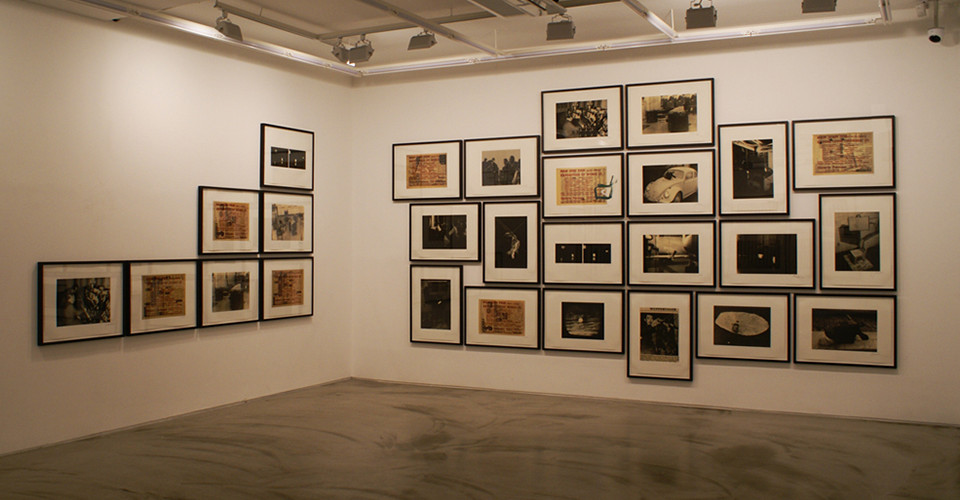 Installation view of simon's collection at Gallery Simon, 2012