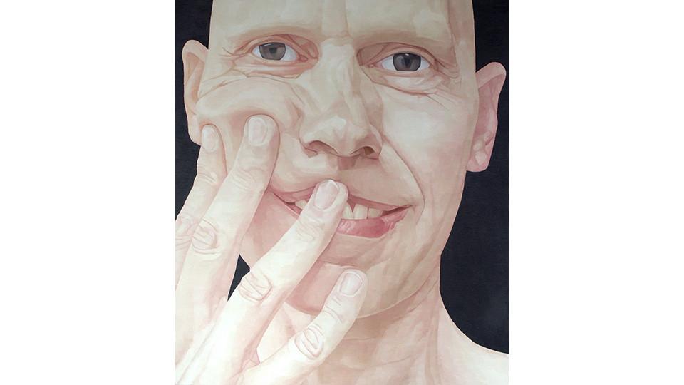 Byen, Ung-Pil, Portrait as a men ? Mr. Mosher from Canada, 2006, 130 x 150 cm