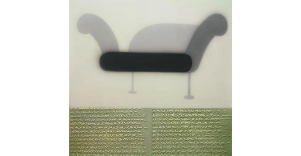 The Facade Conceptual Devision - The Black Smell, 2005, resin, crylic, mixed media, 160 x 160 cm