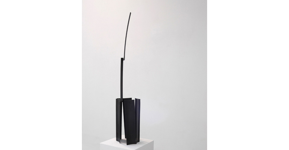 from it, 2013, iron, 127.5 x 25 x 26.7 cm