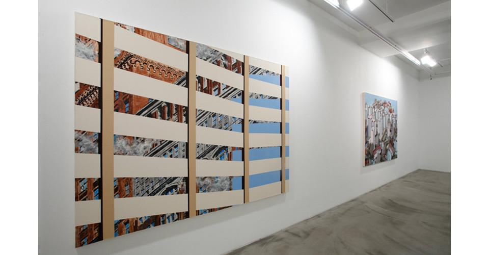 Installation view of Ji Eun Kim, Arrival, Gallery Simon, 2013