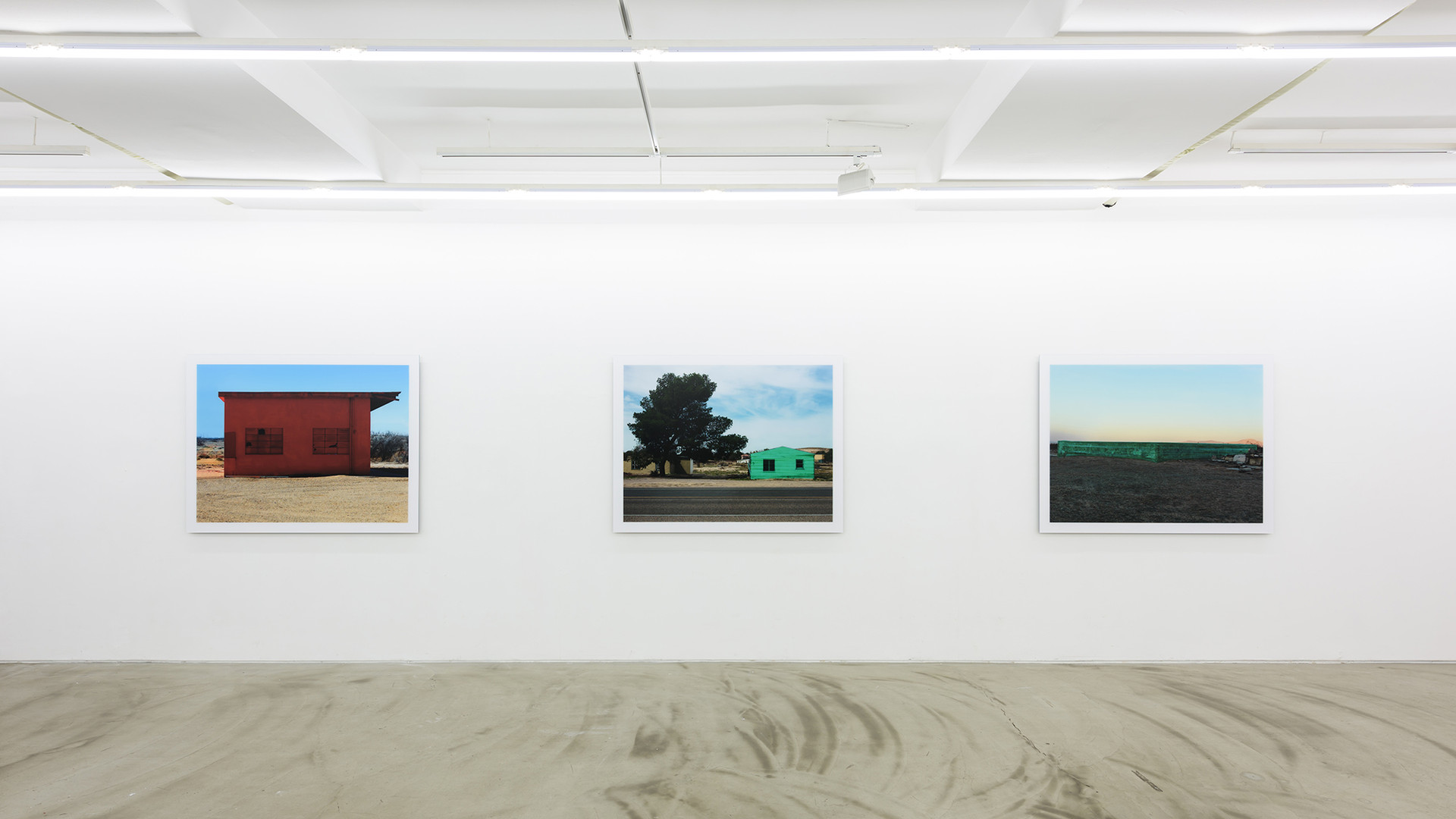 Installation view of Kim, Woo Young, Arrival, Gallery Simon, 2016