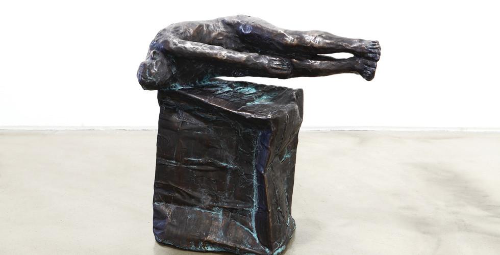 Bae Hyung Kyung, 2017-1, 2017, bronze, 55x32x55(h)cm