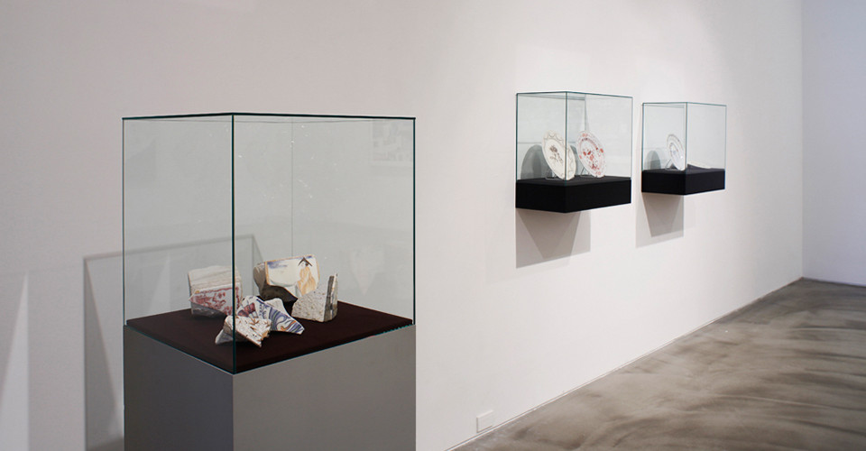 Installation view of Lee Sekyung, Detail, Gallery Simon, 2013