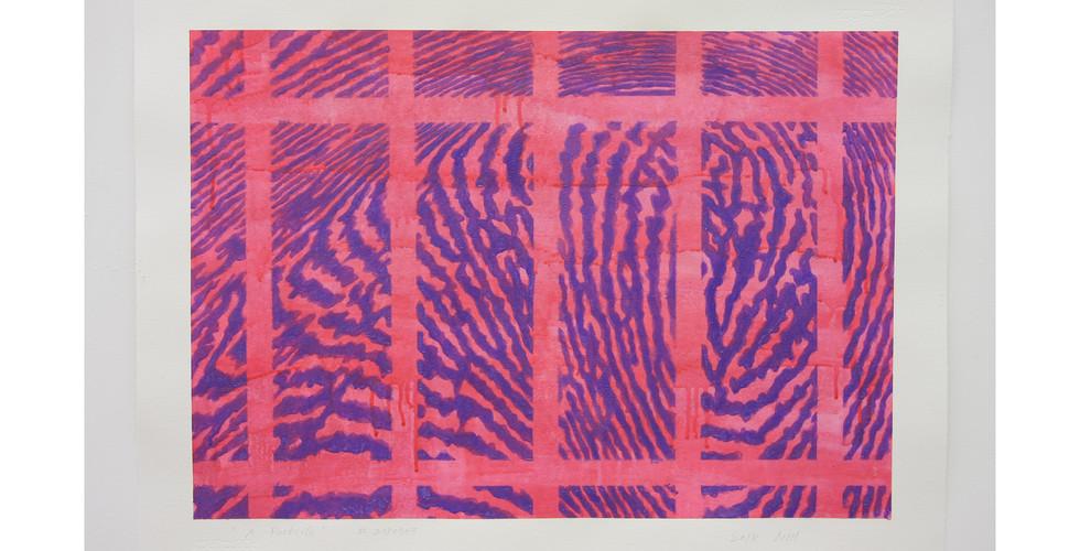 A Particle_#2180703_2018_acrylic & phosphorescent pigment on paper_56 x 76 cm