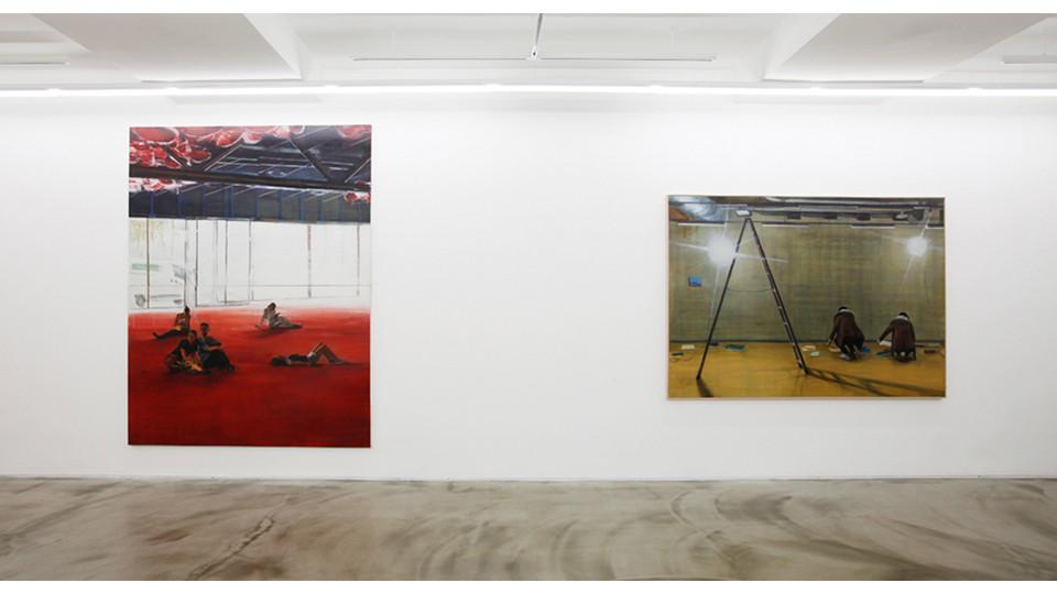 Installation view of Park Jina, Gallery Simon, 2013