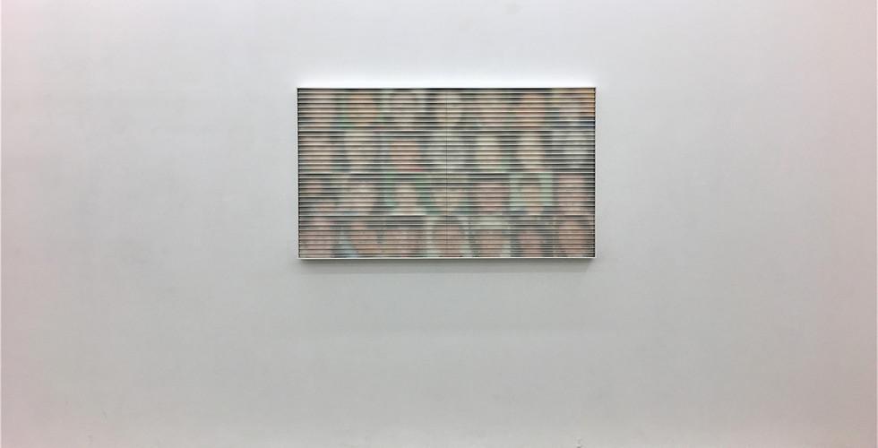 Lee Changwon, Oblivion Victims, 2010, acrylic paint, wooden panels, 135 x 85 x 7.5 cm