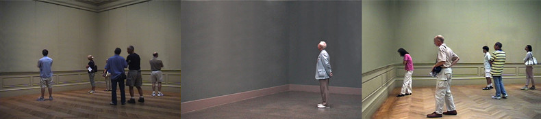 Invisible Masterpiece, 2004, three photos 3 alu-dibond photos, 30.5 cm x 20.5 cm