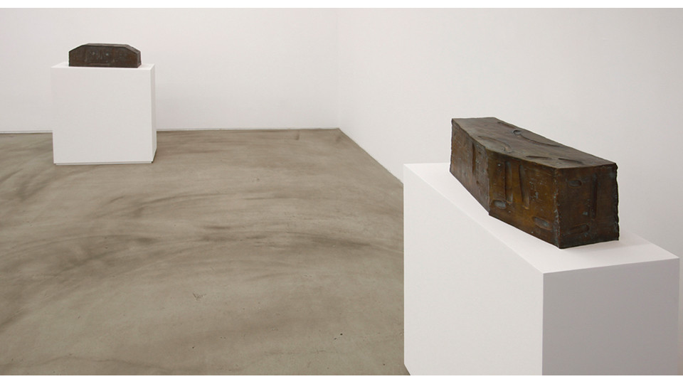 Installation view of sculptor's refuge, Choi Insu Solo Exhibition, Gallery Simon, 2013