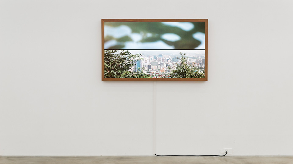 Memory and Desire (No.1), 2014, single channel video on 60 inch LED, custom framed