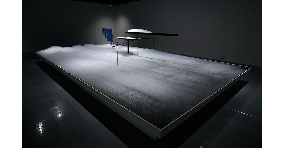 The Cloudium, 2012, mixed media, 9000 X 480 X 50 cm