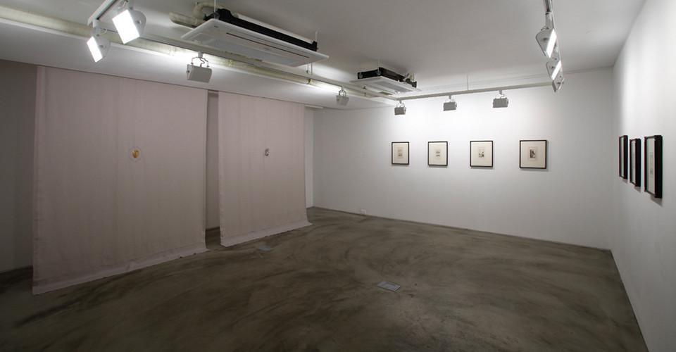 Installation view of Kalim Yoon, Arrival, Gallery Simon, 2013