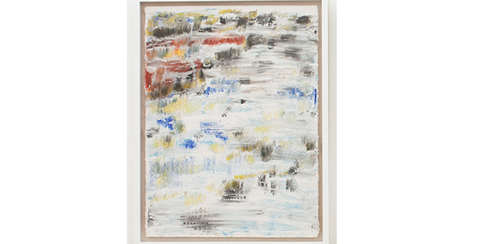 Park Yung Nam, Cloudy and Cool, 2016, mixed media on paper, 83x65cm each
