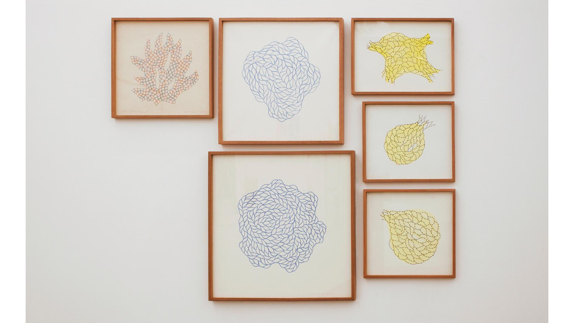 Joohyun Kim, Installation View at Your Hand, My Heart, Gallery Simon, 2017