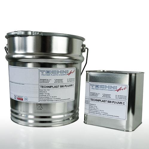 Techniplast 500 PU-UVR C - barwna żywica poliuretanowa
