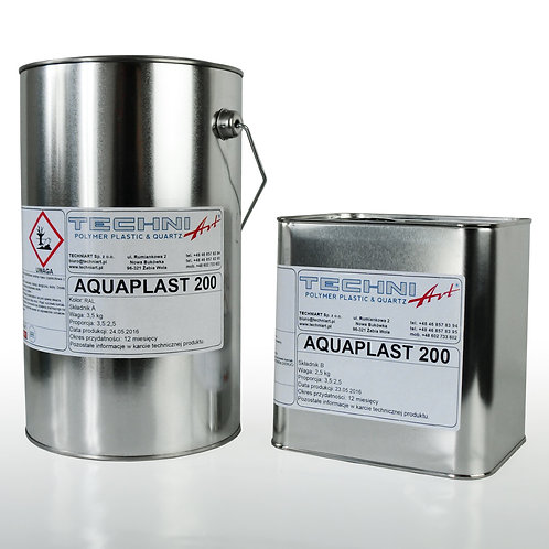 Aquaplast 200 - barwna wodna powłoka epoksydowa