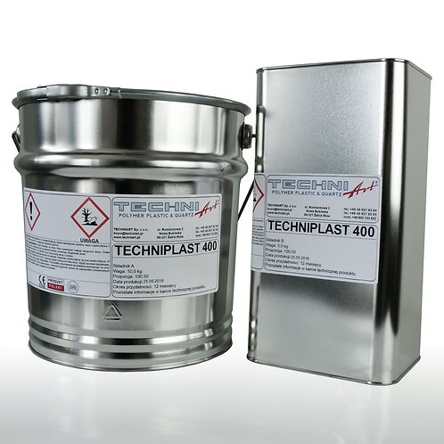 Techniplast 400 - bezbarwna bezrozpuszczalnikowa konstrukcyjna żywica epoksydowa