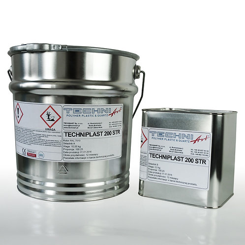 Techniplast 200 STR - barwna bezrozpuszczalnikowa żywica epoksydowa