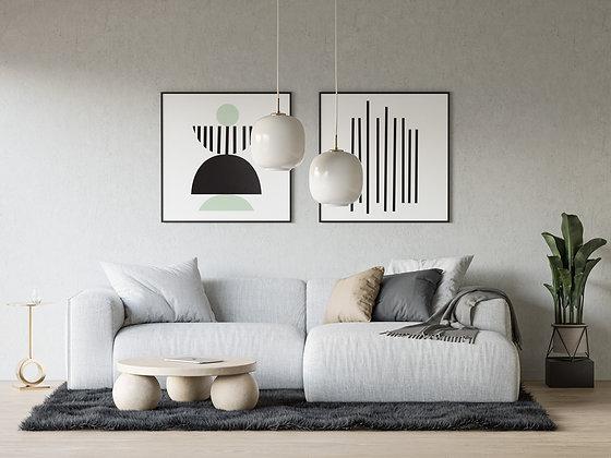 Lines & סט - אבסטרקט צורות