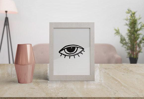 עין מאויירת