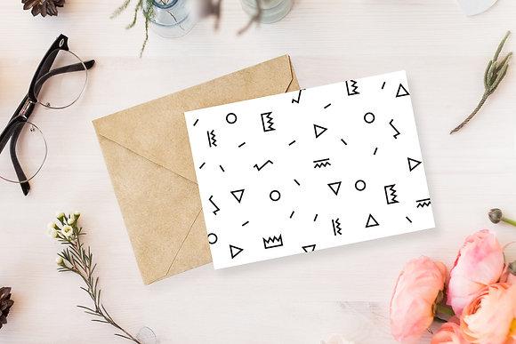 נייר מכתבים-צורות