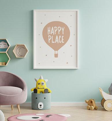 כדור פורח אפרסק-Happy place