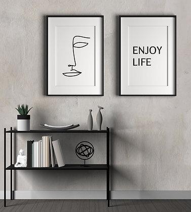 enjoy life סט זוגי