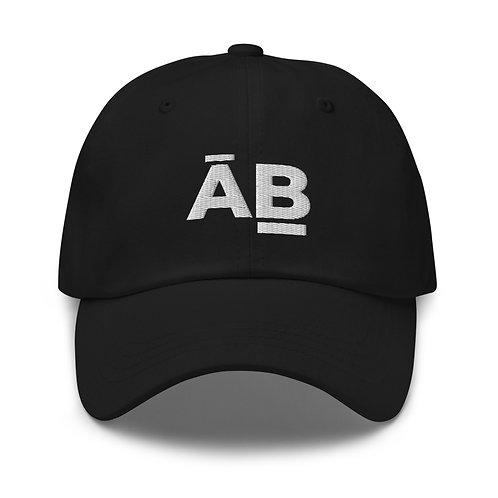 White Logo Baseball Cap