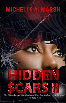 Hidden Scars II MM Book cover