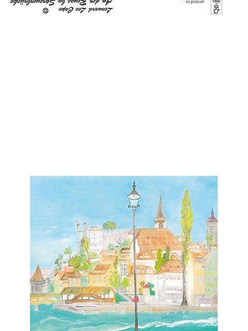 Spreuerbrücke Postkarte