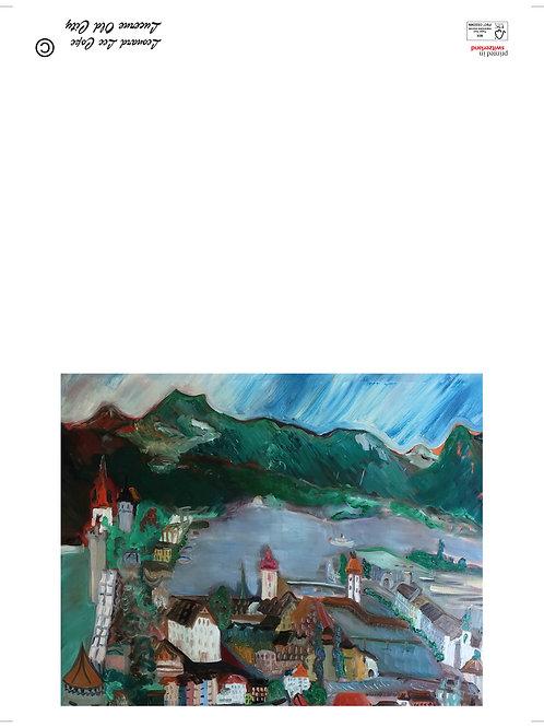 Museggmauer Postkarte