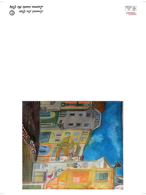 Luzern Altstadt Postkarte