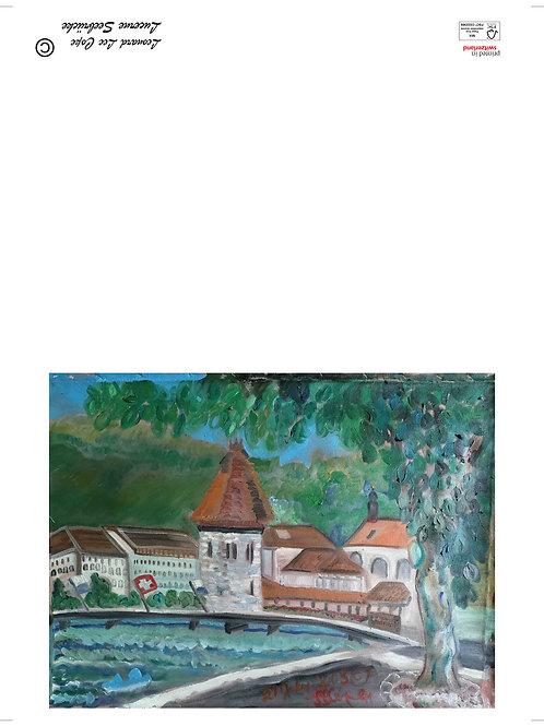 An der Reuss Postkarte