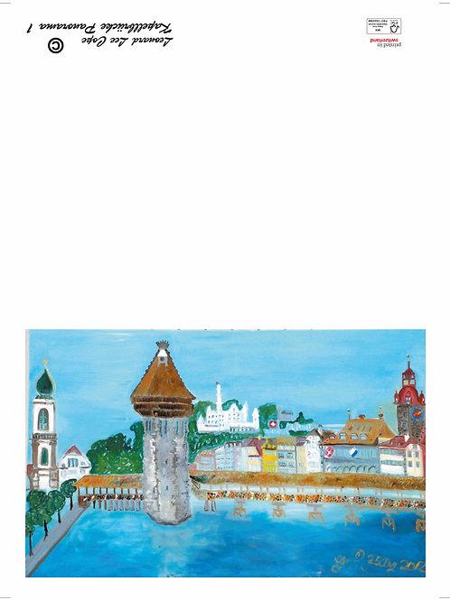 Kappelbrücke Postkarte