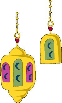 Ramadan lanterns, Ramadan lights