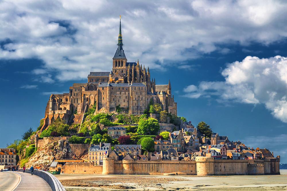 Mont Saint-Michel in Normandy, UNESCO