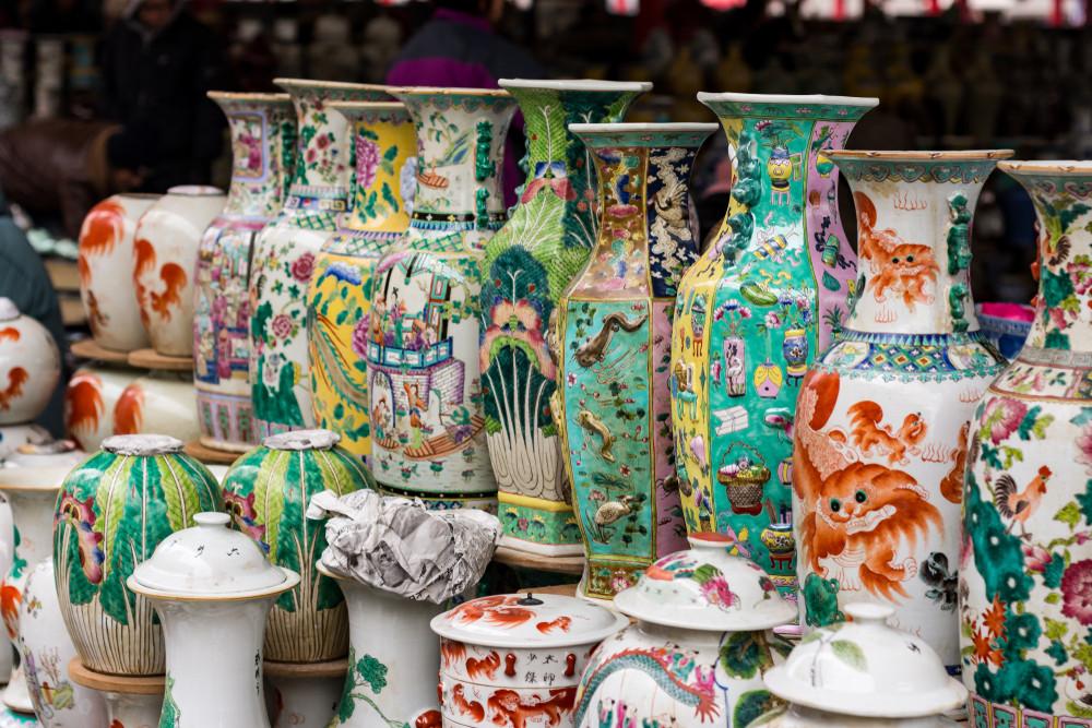 Panjiayuan Antique Market, dynasties