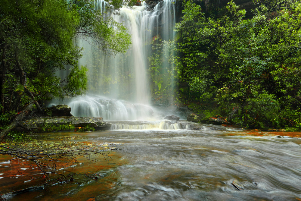 Royal National Park, Waterfalls in Australia