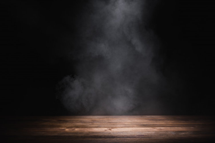 empty-wooden-table-with-smoke-float-up-d
