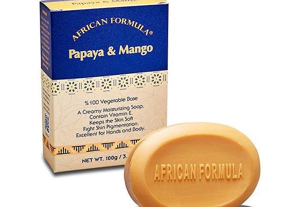 Papaya & Mango Soap African Formula